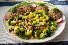 Pohánka so zeleninou - recept Raw Food Recipes, Lunch Recipes, Healthy Recipes, Quinoa, Fried Rice, Health Fitness, Food And Drink, Beef, Snacks