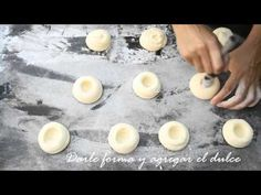 Pepas con dulce receta por Maru Botana® - YouTube