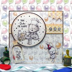 Smudge & Mitten (And Rascal Too) Page 1 | Hunkydory Crafts
