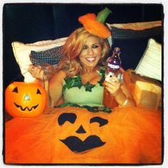 Home-Made Pumpkin Halloween Costume