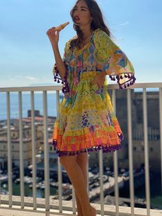 Ibiza Fashion, Shoulder Sleeve, Off The Shoulder, Short Dresses, Cover Up, Boutique, Womens Fashion, Sleeves, Clothes