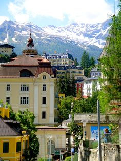 Bad Gastein, Austria - recommend staying at MONDI-HOLIDAY Hotel Bellevue.  You'll find great deals at Vacation4Less on Facebook