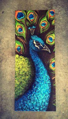 Diy Canvas Art, Acrylic Painting Canvas, African Art Paintings, Peacock Painting, Art Painting Gallery, Arte Sketchbook, Art Drawings Sketches Simple, Watercolor Art, Birds