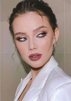 Cute Makeup, Glam Makeup, Gorgeous Makeup, Pretty Makeup, Makeup Inspo, Makeup Art, Makeup Inspiration, Beauty Makeup, Hair Makeup