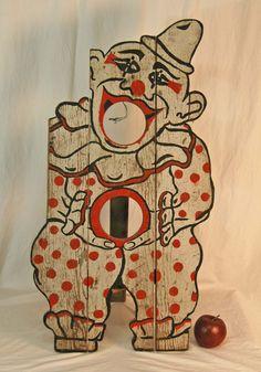 Clown Carnival Bean Bag Toss