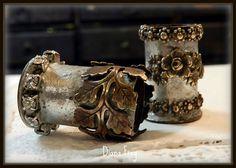 embellished pipes! love.