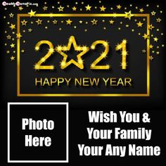 Photo Frame New Year 2021 Wishes Greetings Pictures, Send Specially Name And Photo Create Beautiful Happy New Year Cards, Most Popular Welcome 2021 Amazing Celebration Images With Name And Frame Photo, Customized Name Writing Latest Best Collection Photo Frame 2021 New Year Wallpapers Download.
