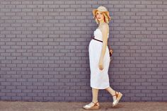 DIY Maternity Sun Dress