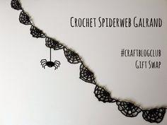 Crochet Spiderweb Garland