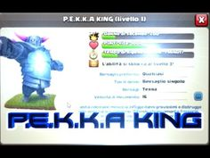 Clash Of Clans!! P E K K A King, Archer Tower and Giants King!!