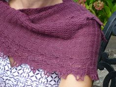Ravelry: Buttonwillow Wrap pattern Rosemary (Romi) Hill