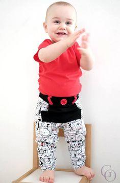 Boy's Fly Pants Pattern