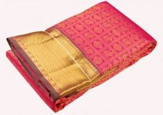 1Handwoven pure zari wedding silk saree - kss985478