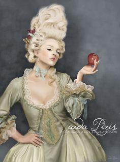 Marie Antoinette by Seleneprincess.deviantart.com on @deviantART