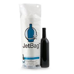 Jet Bag Reusable Padded Absorbent Bottle Bags, Bio-Degradable Travel Accessory, Set of 3 Idea Mia, LLC Travel Gifts, Travel Bags, Cheap Travel, Travel Items, Travel Products, Amazon Products, Unique Products, Expensive Wine, Bottle Bag