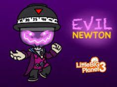 LBP3 Evil Newton Fan art