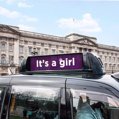 A London Taxi - It's official, the Duke and Duchess of Cambridge have had a baby girl!