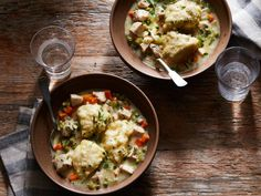 Instant Pot Chicken and Dumplings Comforting chicken and dumplings come together at lightning speed thanks to the Instant Pot®, in this perfect addition to your weeknight dinner arsenal. Instant Pot Pressure Cooker, Pressure Cooker Recipes, Slow Cooker, Pressure Cooking, Food Network Recipes, Cooking Recipes, Cooking Network, Soup Recipes, Soups