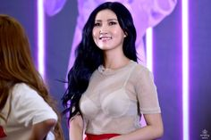 UGH hwasa with long black hair is killing memhshgdgdh