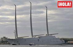 El último capricho de un multimillonario ruso: el yate más grande del mundo - Foto 1