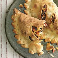 Rachel Ray's Grilled Bacon Cheeseburger Calzone!! Trust me...your family will LOVE them.
