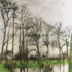 Curtain of trees (2000) by Patrick George