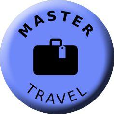 Travel, Master, Badge, TV Badges, Tv, Travel, Viajes, Badge, Television Set, Destinations, Traveling, Trips