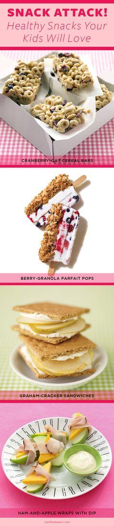 Healthy Snacks Your Kids Will Love | Martha Stewart Living