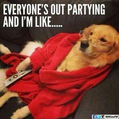 Saturday nights...