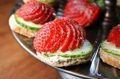 Strawberry cucumber tea sandwiches recipe: A fresh take on the standard finger sandwich