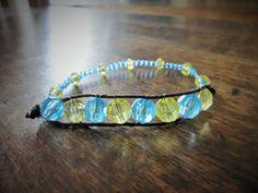 Bracelet Sea & Sun - Bracelet de Plage Ado : Bracelet par charlie-creations-fr