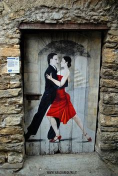 Photo: © 2013 by Massimiliano Farinetti Bailando tango en Italia Cool Doors, Unique Doors, The Doors, Windows And Doors, Grand Entrance, Entrance Doors, Doorway, When One Door Closes, Grafiti
