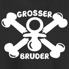 Grosser Bruder Baby Geburt T-Shirts