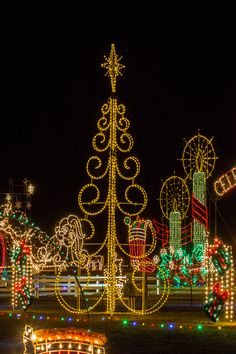 the meadow lights is the largest and oldest christmas light show in eastern north carolina - Christmas Light Show Raleigh Nc