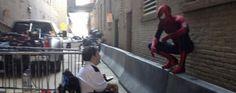 Vidéos de tournage pour #TheAmazingSpiderMan2 #TASM2