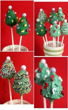 PS 2012-10-20 Christmas Tree Cake Pops