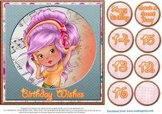 Rhythm Girl 3 on Craftsuprint - Add To Basket!