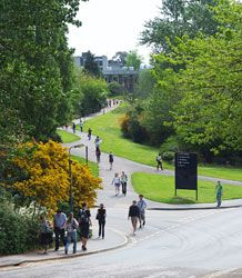 Our beautiful campus at Streatham - University of Exeter