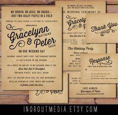 wedding invitation additional information card - Google Search