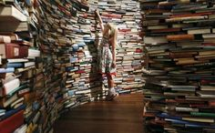 A labyrinth of books, Southbank Centre, London