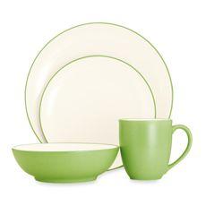 Tabletops Unlimited® Misto Dinnerware in Green   Dinnerware,Plate ...