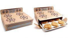 packaging_galletas. Recién sacadas del horno