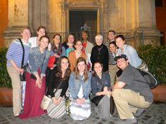 With Sr. Teresita Weind, SND and Sr. Maria Delaney, SND members of the Sisters of Notre Dame de Namur leadership team, based in Rome.