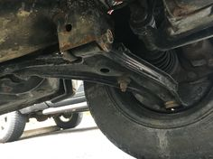 New Moog lower control arms with ball joints