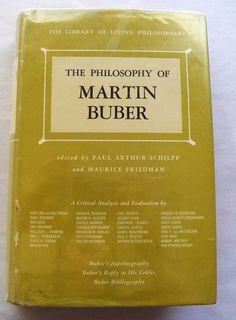$3.00 - Philosophy of Martin Buber Vol. 12 1967 1st ed. HC DJ (5917-524 BO) educational