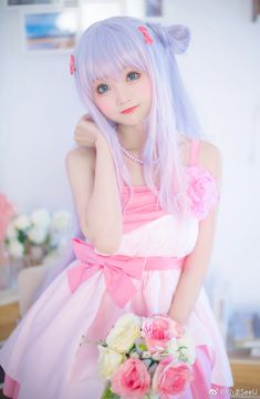 Sagiri by SeeU Cosplayer Kawaii Cosplay, Anime Cosplay, Cute Cosplay, Amazing Cosplay, Best Cosplay, Cosplay Girls, Cosplay Costumes, Cute Kawaii Girl, Loli Kawaii