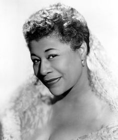 """In Ella Fitzgerald made history, becoming the first African American woman to win a Grammy. """"The First Lady of Song,"""" Ella Fitzgerald was the most popular female jazz singer in the United States. She won 13 Grammy awards and sold over 40 million albums. Iconic Women, Famous Women, Jazz Songs, Celtic Music, Ella Fitzgerald, Jazz Artists, Gone Girl, Jazz Blues, African American Women"""