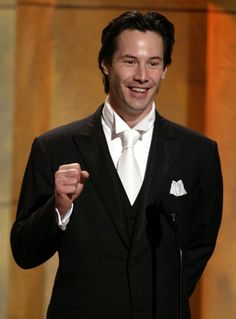 Keanu Reeves. Oh good golly, help me!
