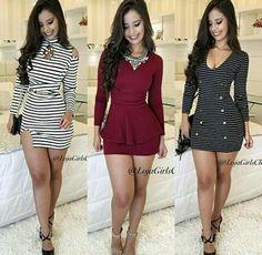 Looks vestidos