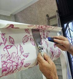 papel pintado: Empapelar un Mueble con Papel Pintado